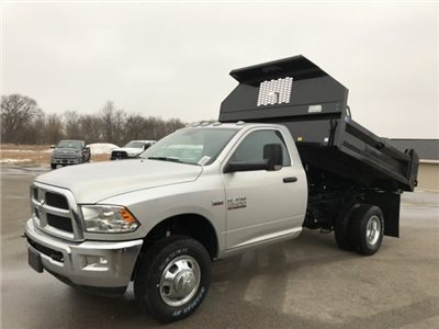 2018 Ram 3500 Regular Cab DRW 4x4, Dump Body #8T76 - photo 1