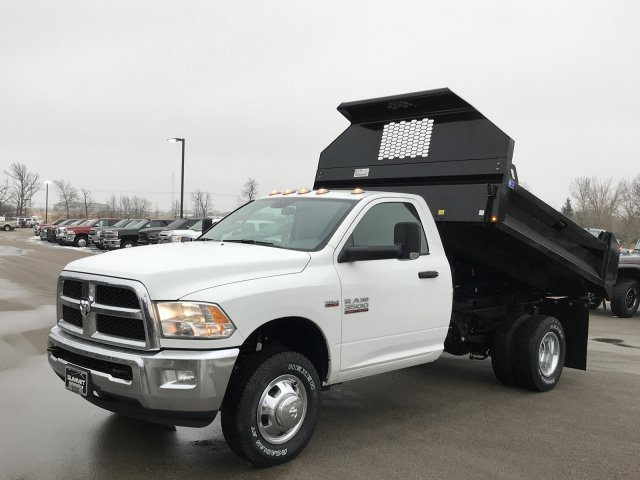 2018 Ram 3500 Regular Cab DRW 4x4, Dump Body #8T77 - photo 1