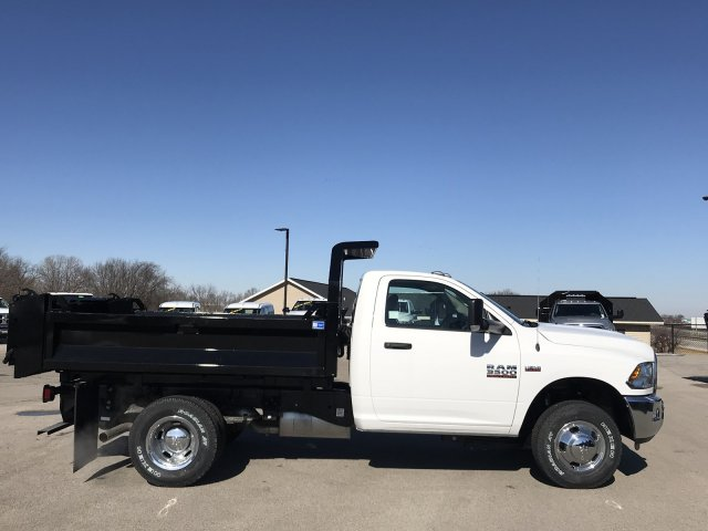 2018 Ram 3500 Regular Cab DRW 4x4,  Knapheide Dump Body #8T77 - photo 23