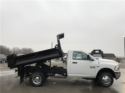 2018 Ram 3500 Regular Cab DRW 4x4, Dump Body #8T77 - photo 3