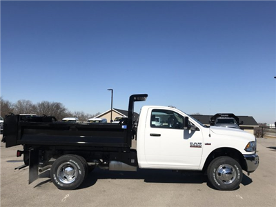 2018 Ram 3500 Regular Cab DRW 4x4, Dump Body #8T77 - photo 23