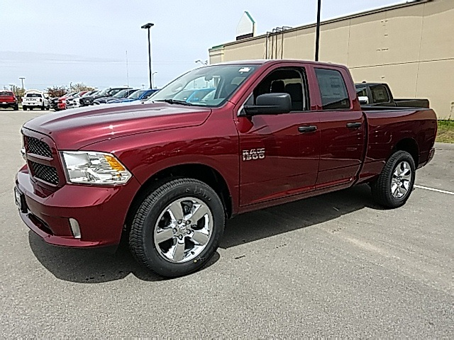 2018 Ram 1500 Quad Cab 4x4,  Pickup #R8182 - photo 4