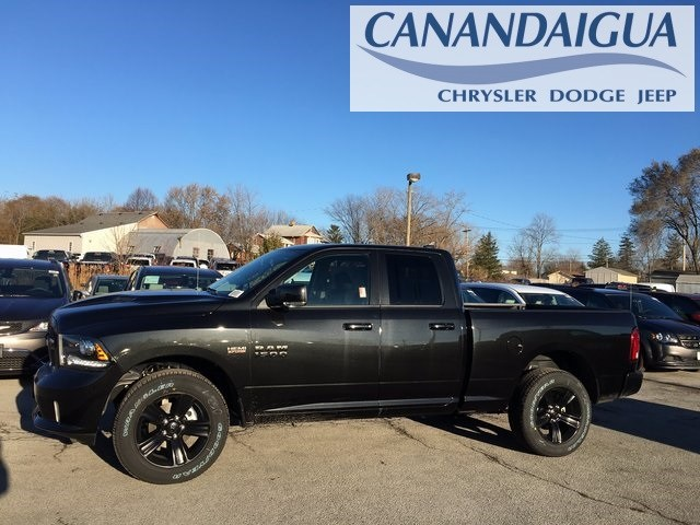 2018 Ram 1500 Quad Cab 4x4, Pickup #DT18090 - photo 3