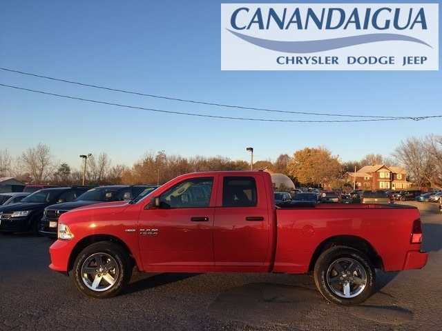 2018 Ram 1500 Quad Cab 4x4, Pickup #DT18100 - photo 4