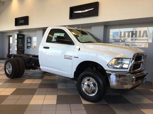 2017 Ram 3500 Regular Cab DRW 4x4 Cab Chassis #HG684407 - photo 7