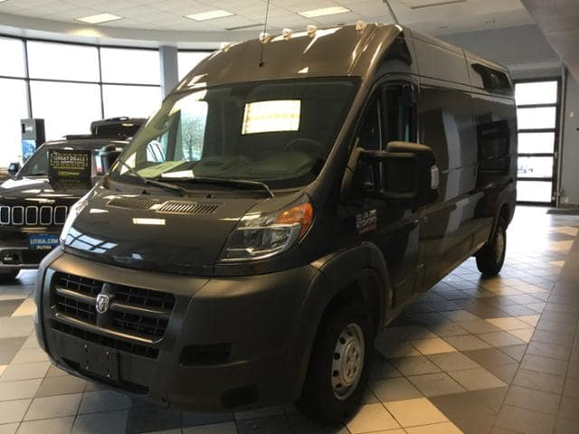 2018 ProMaster 3500 High Roof 4x2,  Empty Cargo Van #JE119859 - photo 26