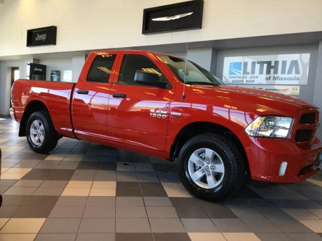 2018 Ram 1500 Quad Cab 4x4, Pickup #JS187045 - photo 6