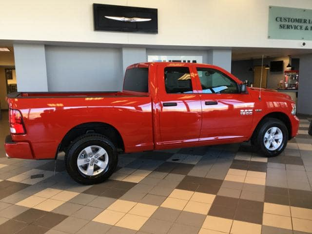2018 Ram 1500 Quad Cab 4x4, Pickup #JS187045 - photo 7
