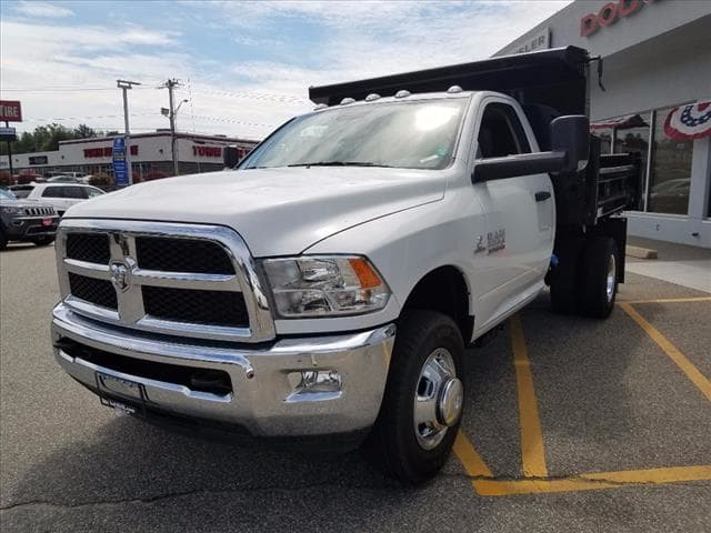 2017 Ram 3500 Regular Cab DRW 4x4,  Rugby Dump Body #D17307 - photo 4