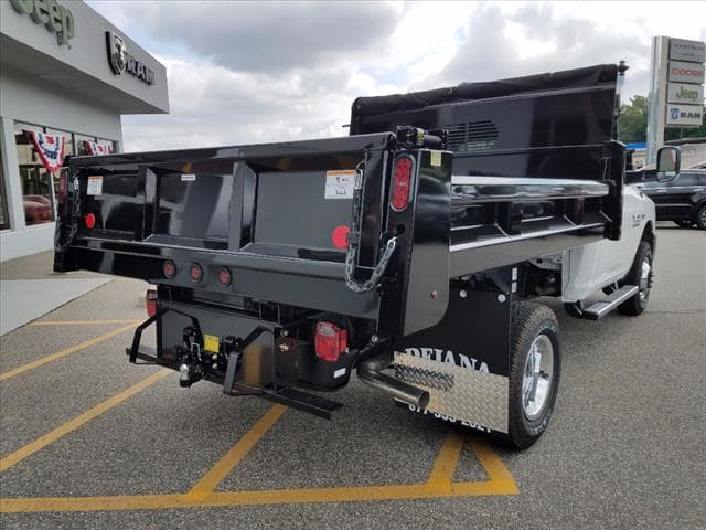 2017 Ram 3500 Regular Cab DRW 4x4,  Rugby Dump Body #D17414 - photo 2