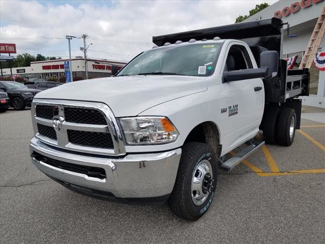 2017 Ram 3500 Regular Cab DRW 4x4,  Rugby Dump Body #D17414 - photo 4