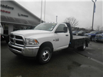 2016 Ram 3500 Regular Cab DRW 4x4, Knapheide Platform Body #N16392 - photo 1