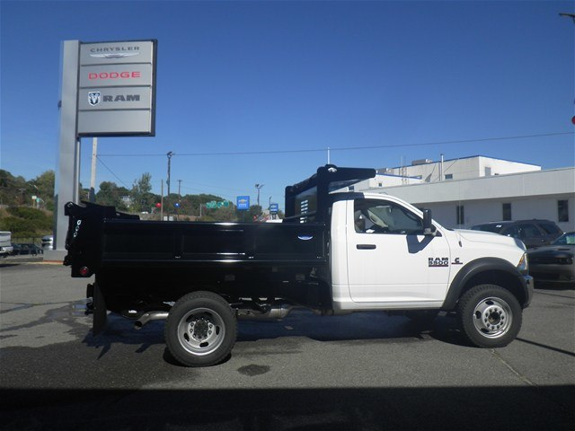 2016 Ram 5500 Regular Cab DRW 4x4, Air-Flo Pro-Class Dump Body #N16396 - photo 4