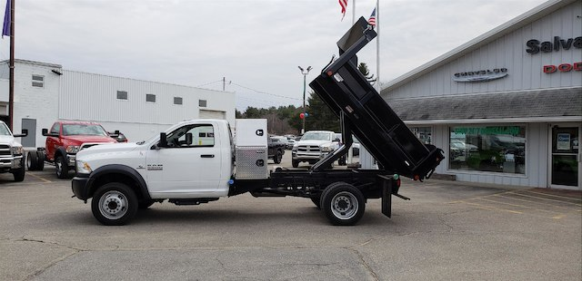 2017 Ram 5500 Regular Cab DRW 4x4, Crysteel Dump Body #N17078 - photo 7