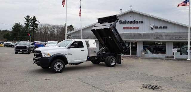 2017 Ram 5500 Regular Cab DRW 4x4, Crysteel Dump Body #N17078 - photo 8