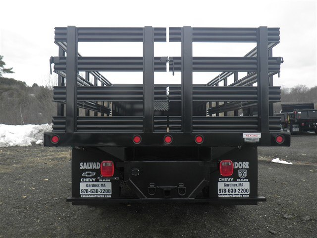 2017 Ram 5500 Crew Cab DRW 4x4, Reading Stake Bed #N17130 - photo 4