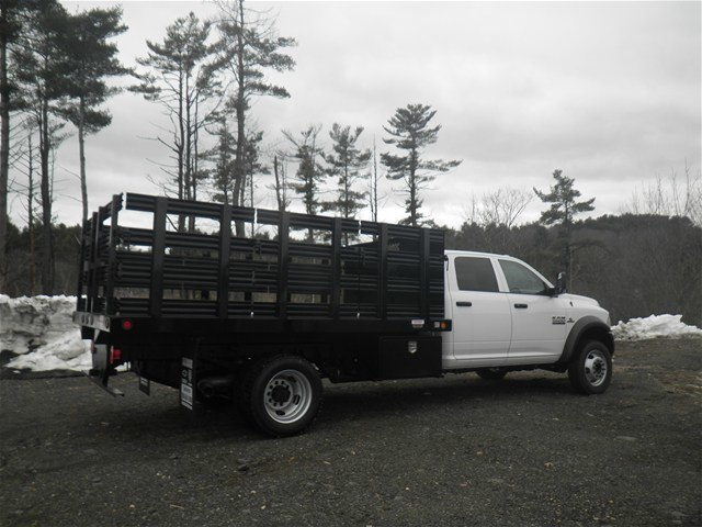 2017 Ram 5500 Crew Cab DRW 4x4, Reading Stake Bed #N17130 - photo 2