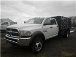 2017 Ram 5500 Crew Cab DRW 4x4, Reading Stake Bed #N17130 - photo 1