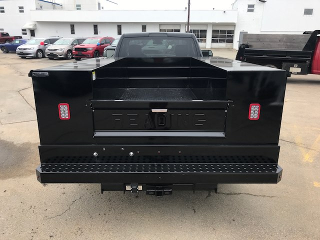 2017 Ram 3500 Regular Cab DRW 4x4,  Reading Classic II Steel Service Body #N17257 - photo 4
