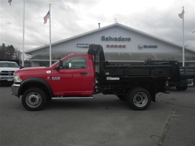 2017 Ram 5500 Regular Cab DRW 4x4, Rugby Dump Body #N17326 - photo 2