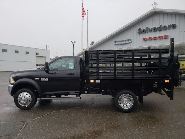 2018 Ram 5500 Regular Cab DRW 4x4,  Stake Bed #N18047 - photo 3