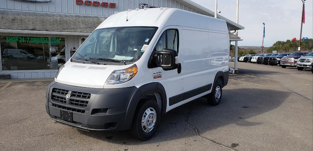 2018 ProMaster 2500 High Roof FWD,  Empty Cargo Van #N18136 - photo 1