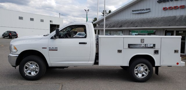 2018 Ram 3500 Regular Cab 4x4, Reading Service Body #N18185 - photo 3