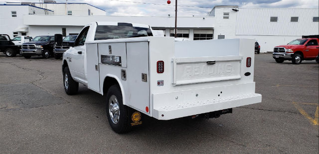 2018 Ram 3500 Regular Cab 4x4, Reading Service Body #N18185 - photo 2