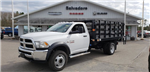 2018 Ram 5500 Regular Cab DRW 4x4, Knapheide Stake Bed #N18197 - photo 1