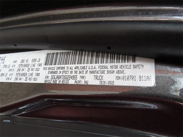 2016 Ram 1500 Regular Cab, Pickup #224955 - photo 22
