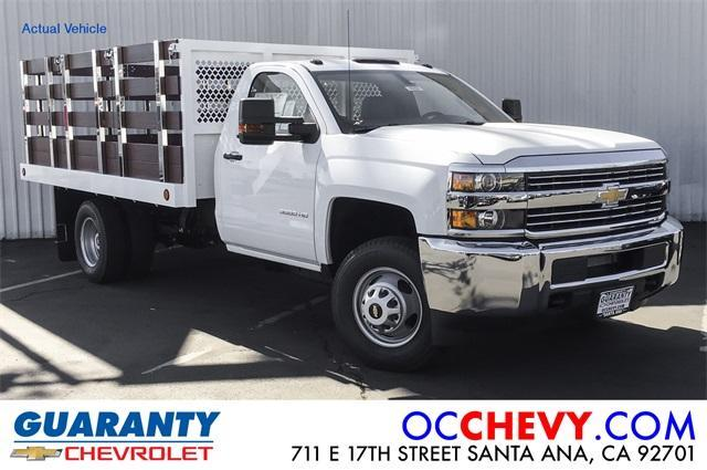 New 2018 Chevrolet Silverado 3500 Regular Cab, Stake Bed | For Sale