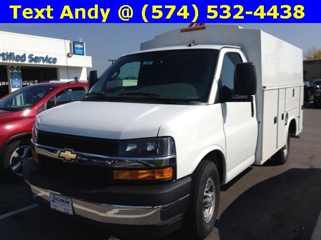 2018 Express 3500 4x2,  Service Utility Van #M4607 - photo 1