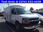 2018 Express 3500 4x2,  Service Utility Van #M4607 - photo 3