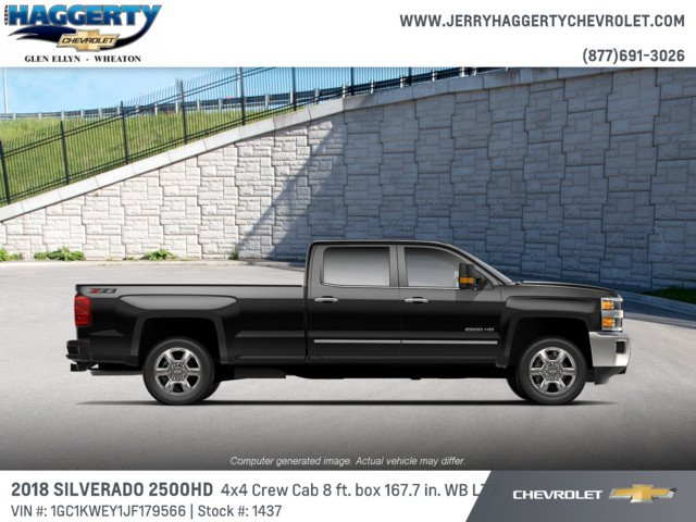 2018 Silverado 2500 Crew Cab 4x4, Pickup #1437 - photo 2