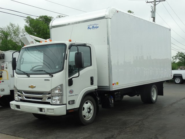2017 LCF 4500XD Regular Cab 4x2,  Bay Bridge Sheet and Post Cutaway Van #1467 - photo 1