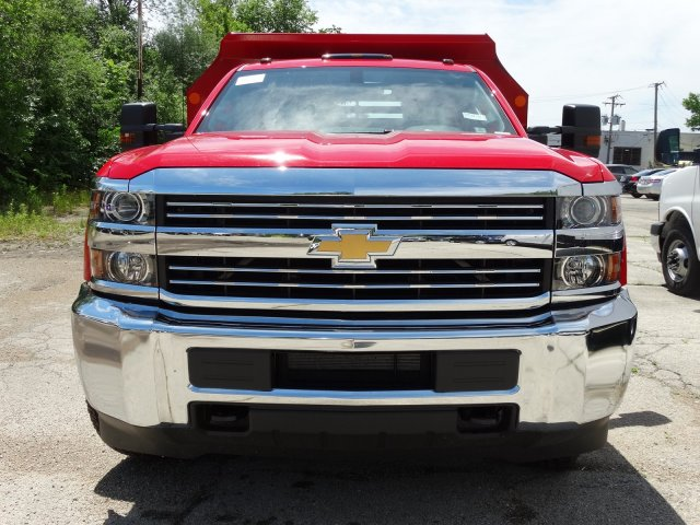 2017 Silverado 3500 Regular Cab DRW 4x4, Monroe Dump Body #64557 - photo 4
