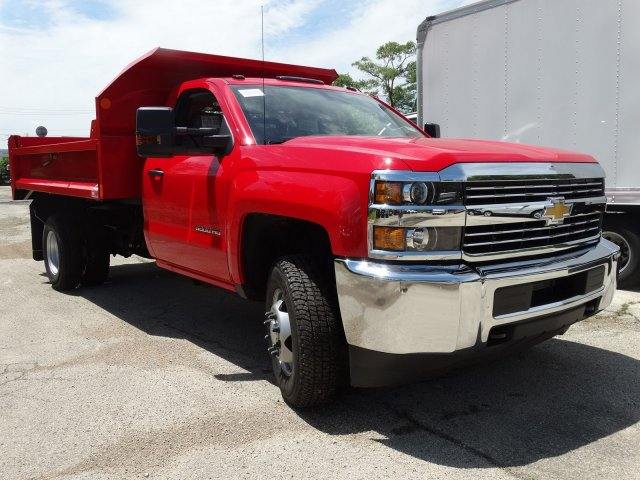 2017 Silverado 3500 Regular Cab DRW 4x4, Monroe Dump Body #64557 - photo 5