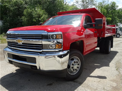 2017 Silverado 3500 Regular Cab DRW 4x4, Monroe MTE-Zee Dump Dump Body #64557 - photo 1