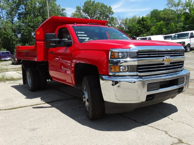 2017 Silverado 3500 Regular Cab DRW 4x4,  Monroe Dump Body #64558 - photo 5
