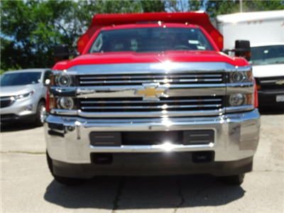 2017 Silverado 3500 Regular Cab DRW 4x4, Monroe MTE-Zee Dump Dump Body #64558 - photo 4