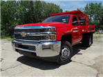 2017 Silverado 3500 Regular Cab DRW 4x4,  Monroe Dump Body #64558 - photo 1