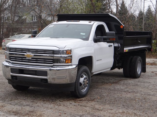 2017 Silverado 3500 Regular Cab DRW 4x4, Monroe MTE-Zee Dump Dump Body #64764 - photo 1