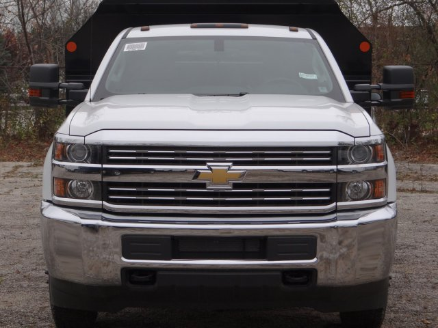 2017 Silverado 3500 Regular Cab DRW 4x4, Monroe MTE-Zee Dump Dump Body #64764 - photo 4
