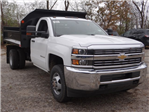 2017 Silverado 3500 Regular Cab DRW 4x4, Monroe MTE-Zee Dump Dump Body #64764 - photo 5