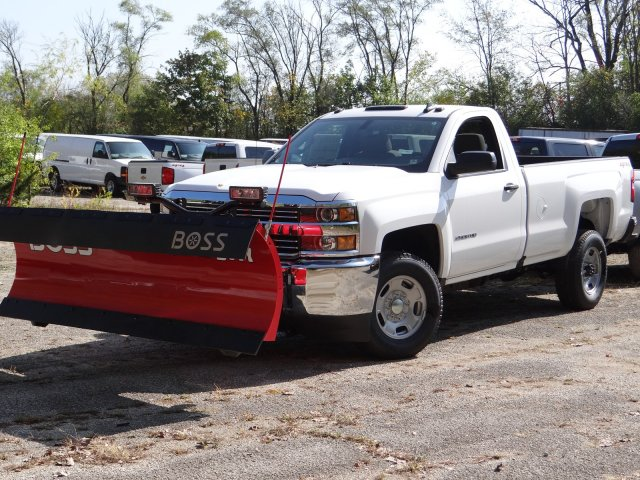 2018 Silverado 2500 Regular Cab 4x4,  BOSS Snowplow Pickup #65117 - photo 1