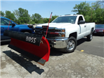 2018 Silverado 2500 Regular Cab 4x4,  BOSS Snowplow Pickup #65117 - photo 3