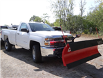 2018 Silverado 2500 Regular Cab 4x4,  BOSS Snowplow Pickup #65117 - photo 7