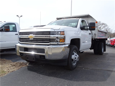 2018 Silverado 3500 Regular Cab DRW 4x4,  Monroe MTE-Zee SST Series Dump Body #65247 - photo 3