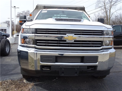 2018 Silverado 3500 Regular Cab DRW 4x4,  Monroe MTE-Zee SST Series Dump Body #65247 - photo 5