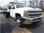2018 Silverado 3500 Regular Cab DRW 4x4,  Monroe MTE-Zee SST Series Dump Body #65247 - photo 1